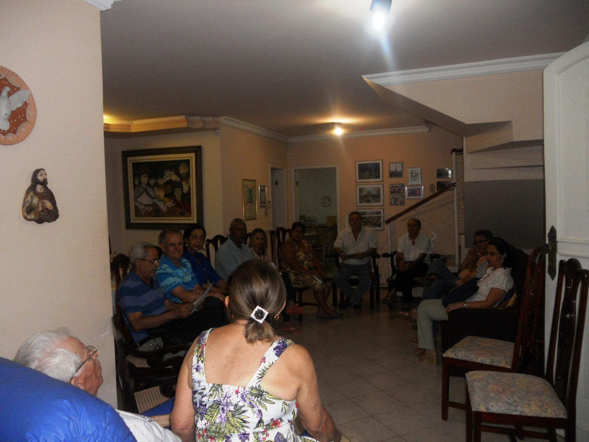Reunião preparatória para a formação de agentes de pastoral setorial